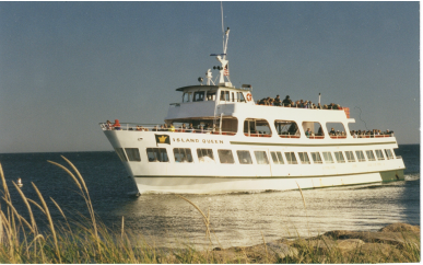 Island Queen Ferry, Falmouth, Cape Cod, Massachusetts
