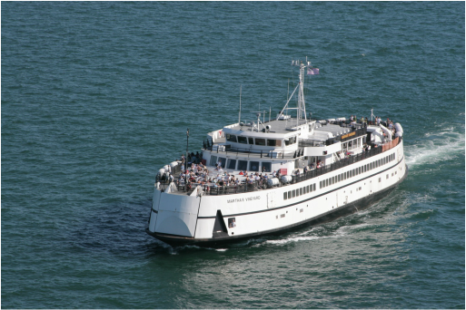 Steamship Authority Ferry, Falmouth, Woods Hole, Cape Cod, Massachusetts